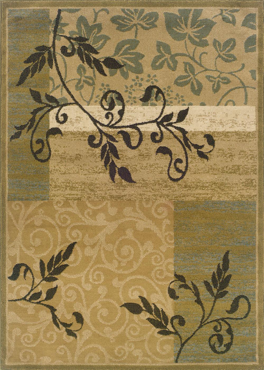 Oriental Weavers CAMDEN 2395C Gold Rug