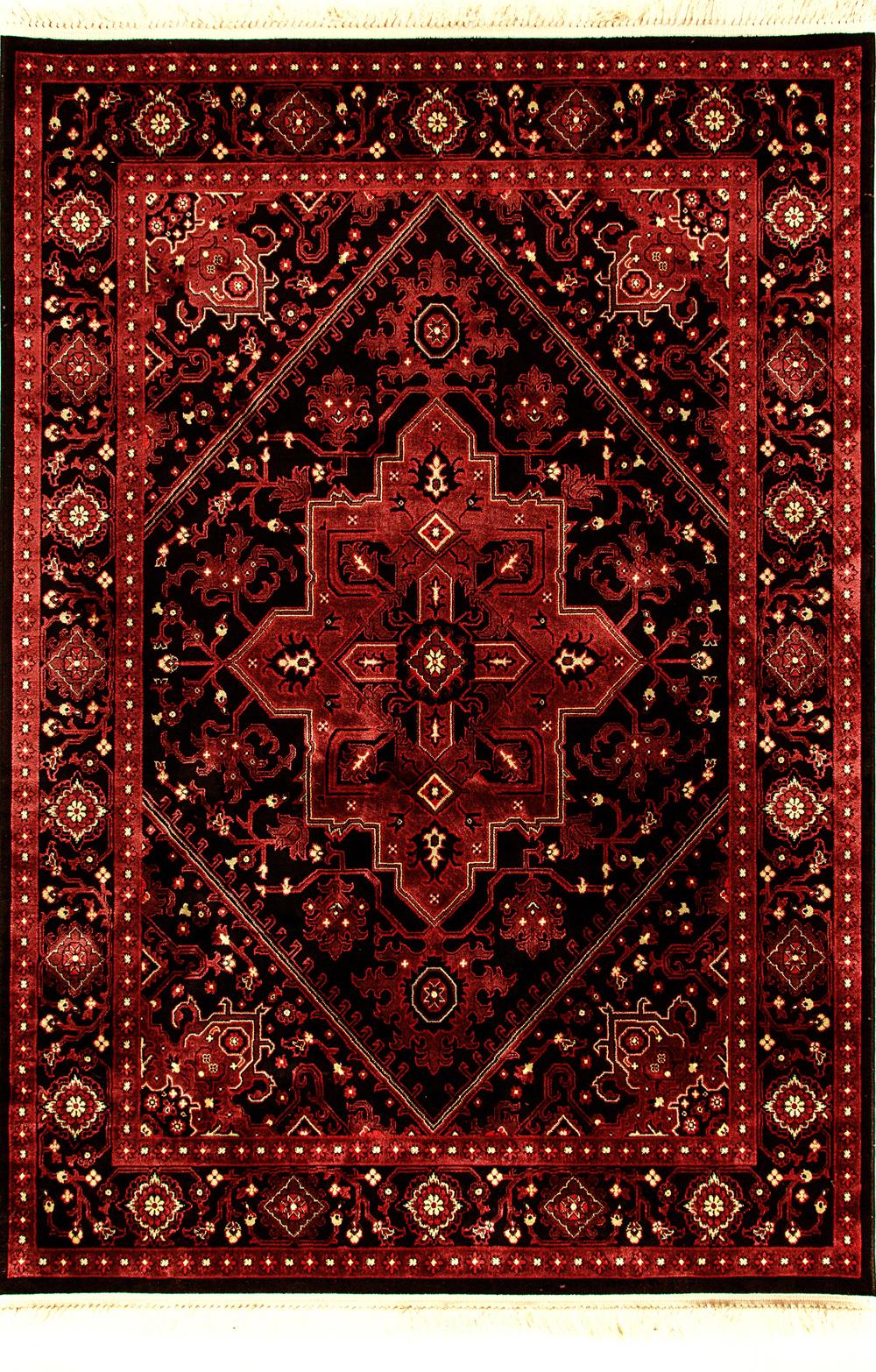 Dynamic CROWN 16226 RED/BLACK Rug