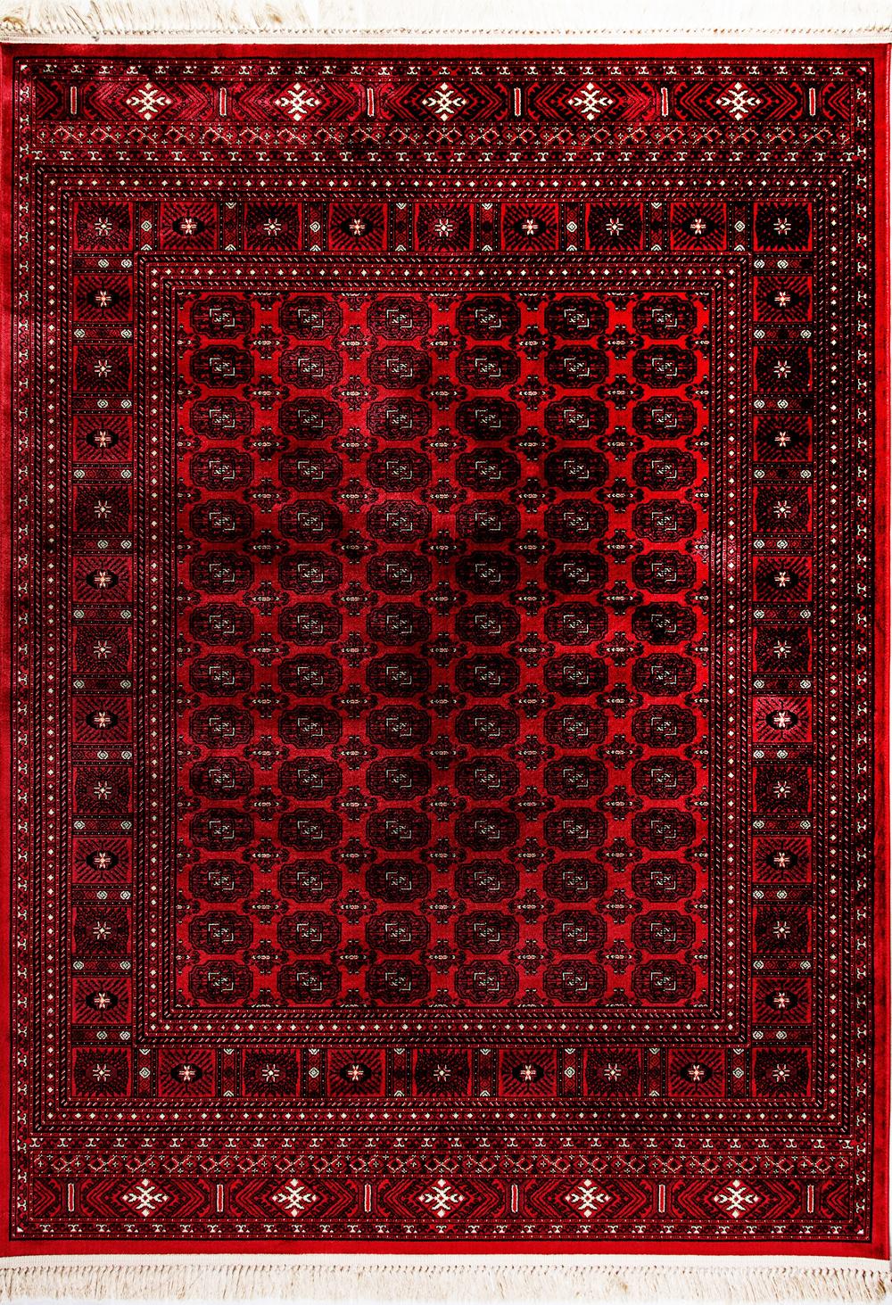 Dynamic CROWN 16227 RED Rug