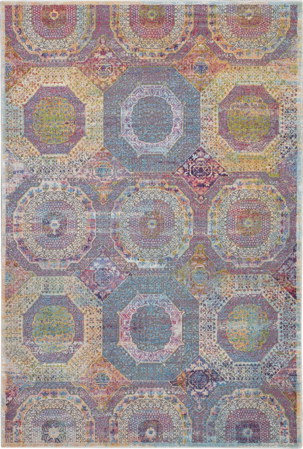 Nourison Global Vintage GLB05 Multicolor Rug