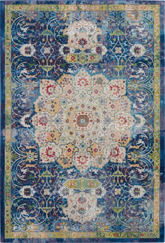 Nourison Global Vintage GLB03 Blue Rug