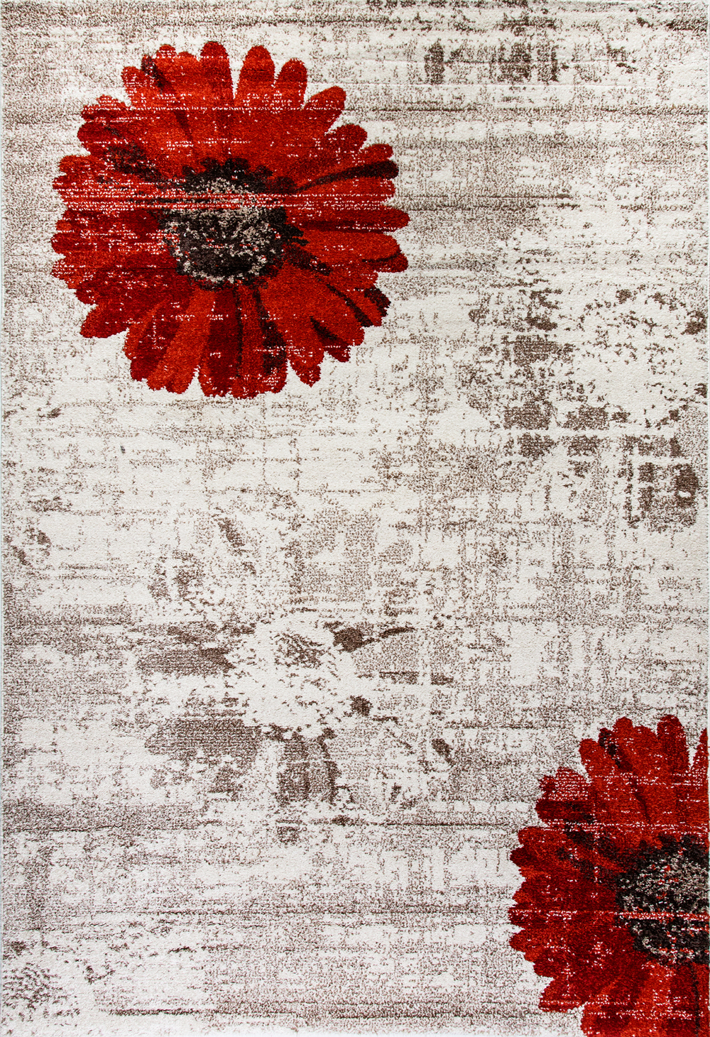 Dynamic INFINITY 35009 IVORY/RED Rug