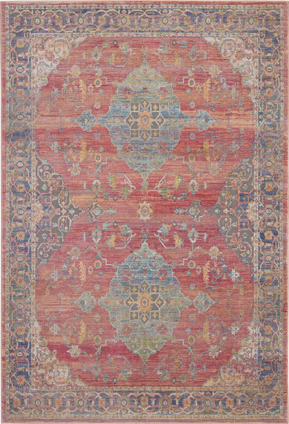 Nourison Global Vintage GLB01 Multicolor Rug
