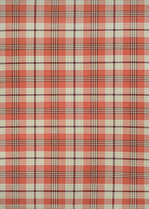 couristan bar harbor cape plaid pumpkin patch