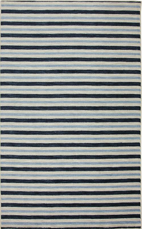 karastan aurora monterey stripe blue navy