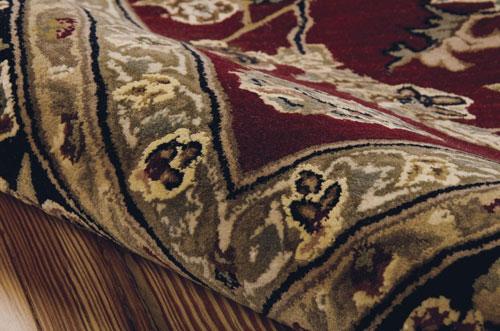 Nourison NOURISON 2000 2002 BURGUNDY Detail
