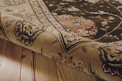 Nourison NOURISON 2000 2206 BROWN Detail