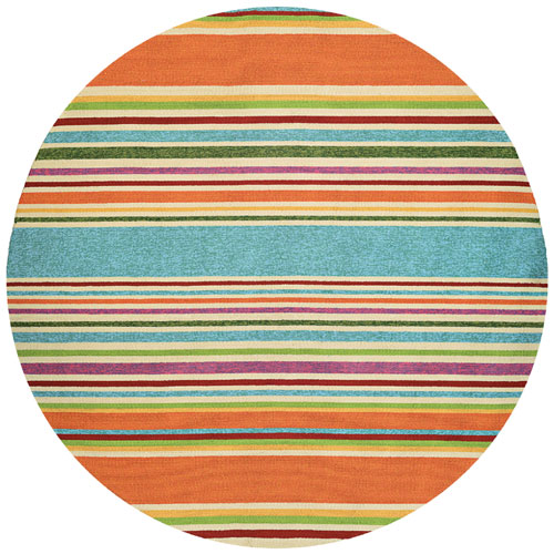 couristan covington sherbet stripe multi