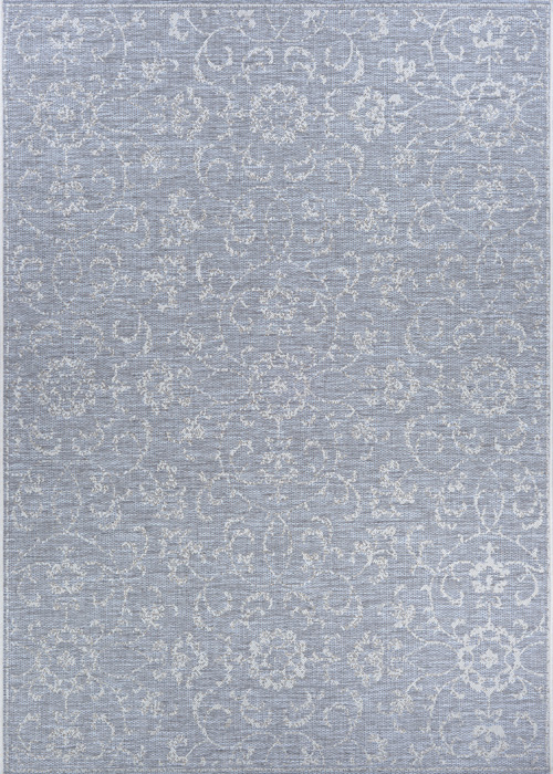 couristan monte carlo summer vines pewter/ivory