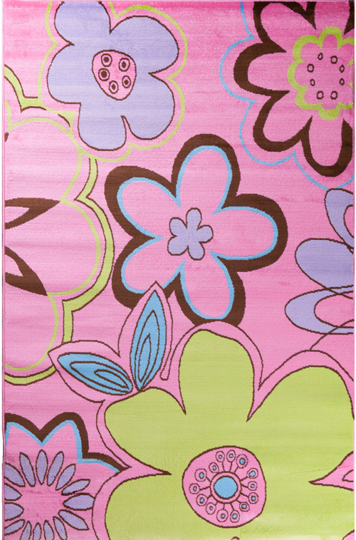 concord global alisa groovy flowers pink