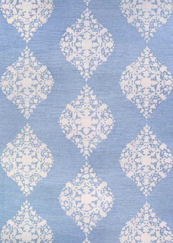 couristan crawford ornament powder blue
