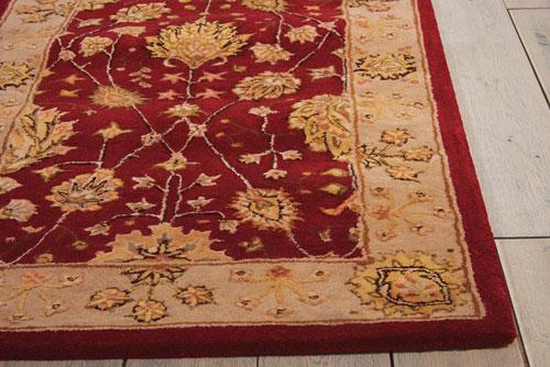 Nourison NOURISON 3000 3102 RED Detail