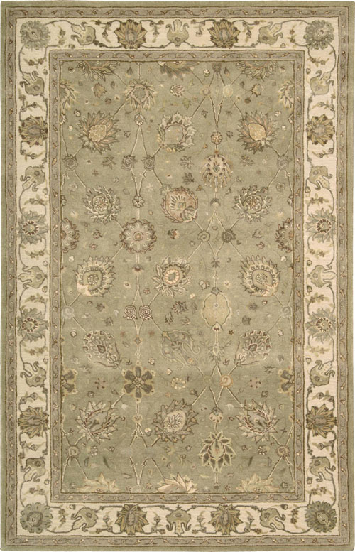 Nourison NOURISON 3000 3105 LIGHT GREEN Rug