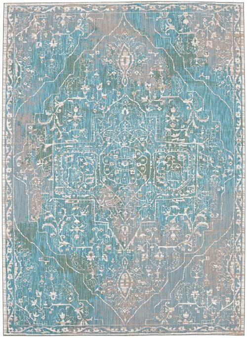 Karastan Meraki 39500 Chimera Lime