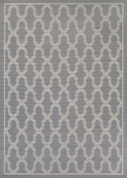 couristan five seasons crystal coast grey/cream