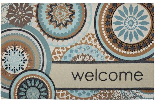 karastan mats doorscapes mat floral mix welcome multi mat