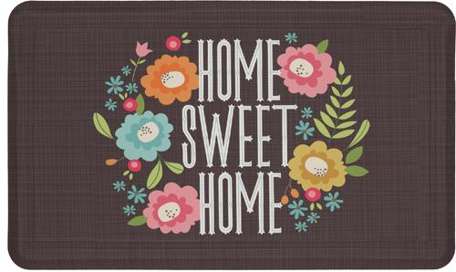 karastan mats dri- pro comfort mat home sweet home multi mat