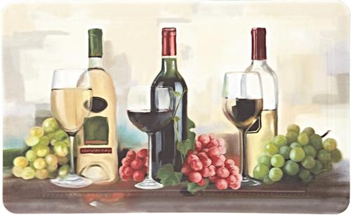karastan mats dri- pro comfort mat rofino wine trio multi mat