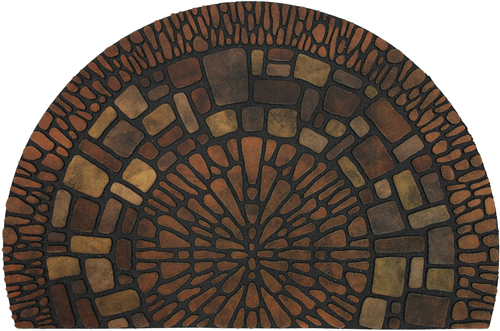 karastan mats doorscapes estate mat exploded medallions multi mat
