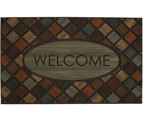 karastan mats doorscapes mat welcome marquetry multi mat