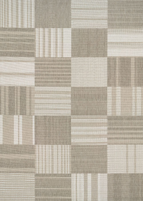 couristan afuera patchwork beige/ivory
