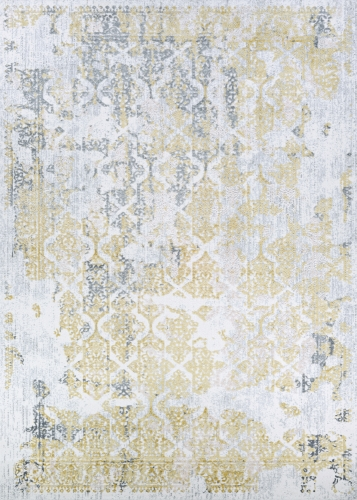 Couristan CALINDA GRAND DAMASK GOLD/SILVER/IVRY