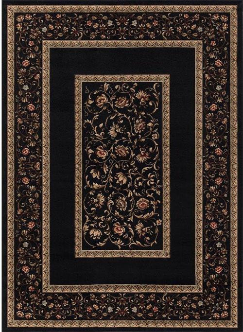 concord global ankara floral border black