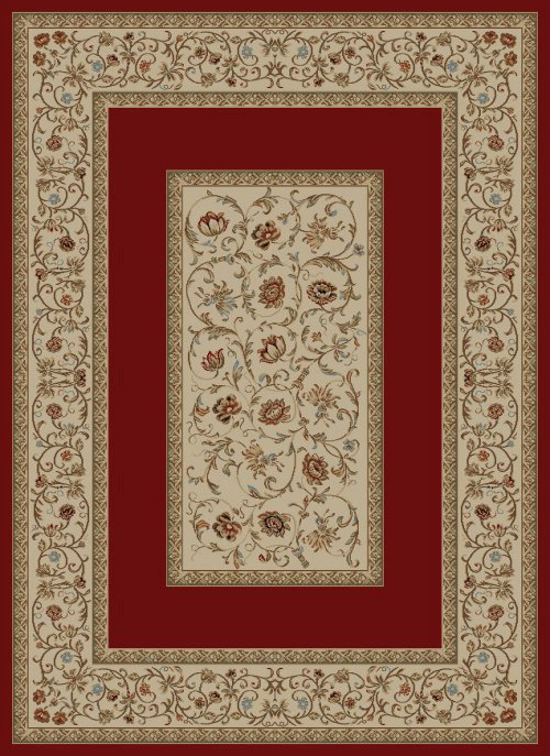concord global ankara floral border red