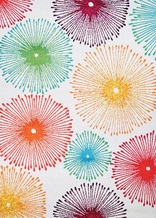 couristan spectrum illuminations beige/multi