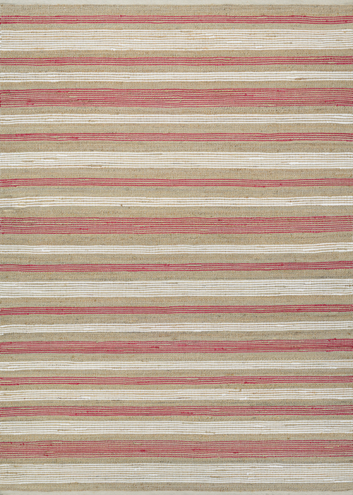 couristan nature's elements awning stripes straw/red/white