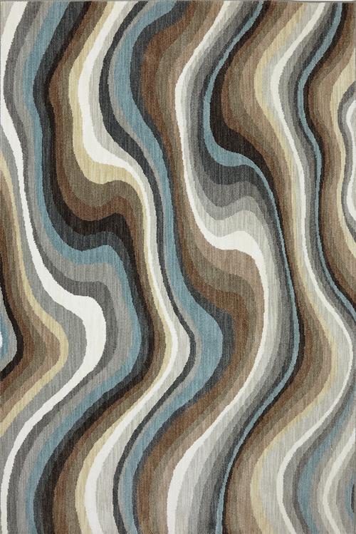 Karastan Euphoria Larkhall Granite Multi Rug