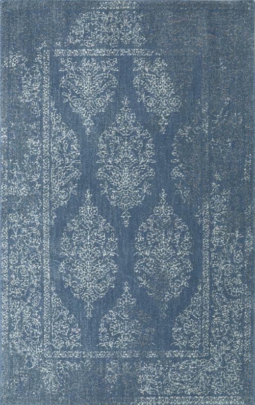 American Rug Craftsman Berkshire Paxton Blue Blue