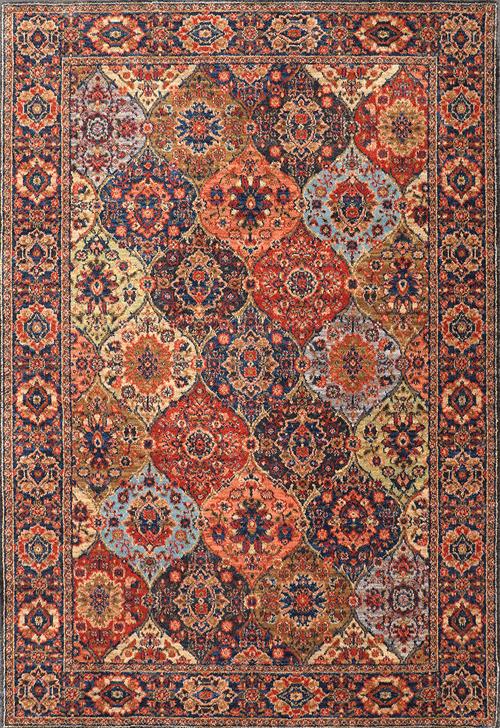 Karastan Spice Market Levant Multi Multi