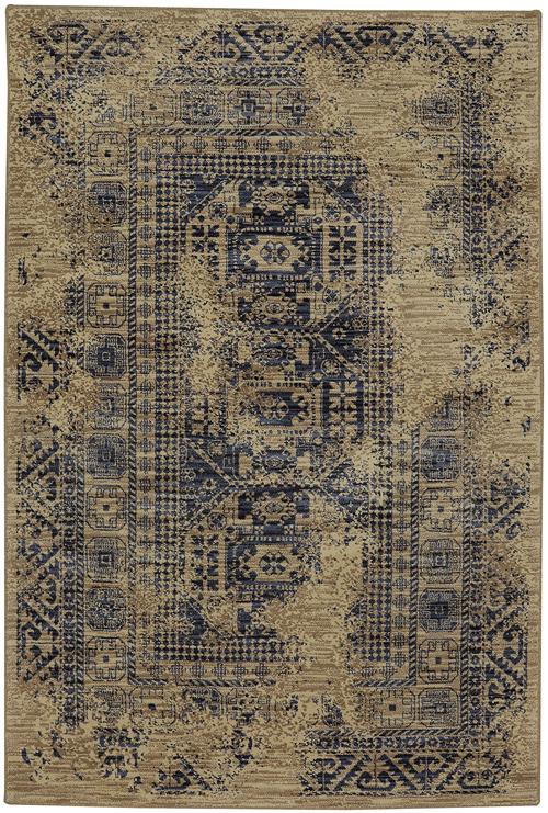 karastan providence kezar blue slate linen