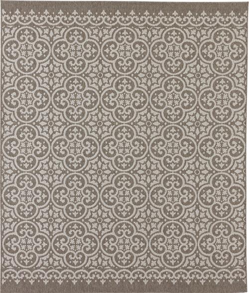 karastan portico amalfi silver gray