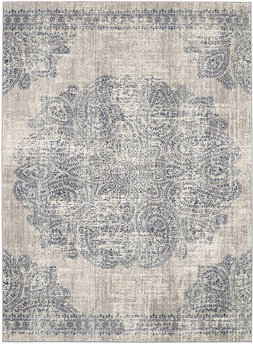 scott living expressions 91672 dharma medallion indigo by scott living