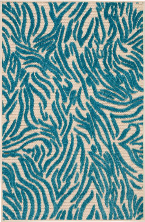 nourison aloha alh04 blue