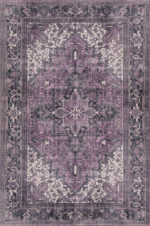 Dalyn Amanti AM3 Plum Rug