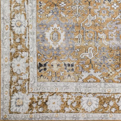 Dalyn Amanti AM4 Walnut Detail