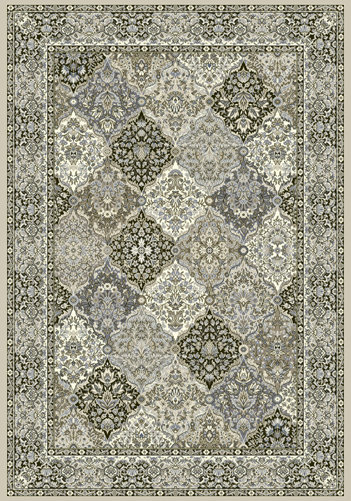 Dynamic ANCIENT GARDEN 57008 CREAM/GREY Rug