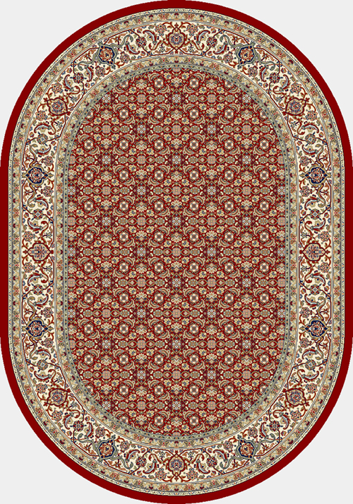 dynamic ancient garden 57011 red/ivory