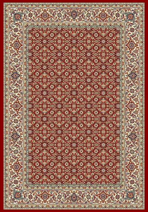 Dynamic ANCIENT GARDEN 57011 RED/IVORY Rug