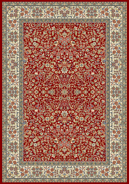 Dynamic ANCIENT GARDEN 57078 RED/IVORY