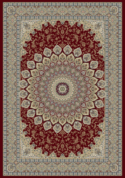 Dynamic ANCIENT GARDEN 57090 RED Rug