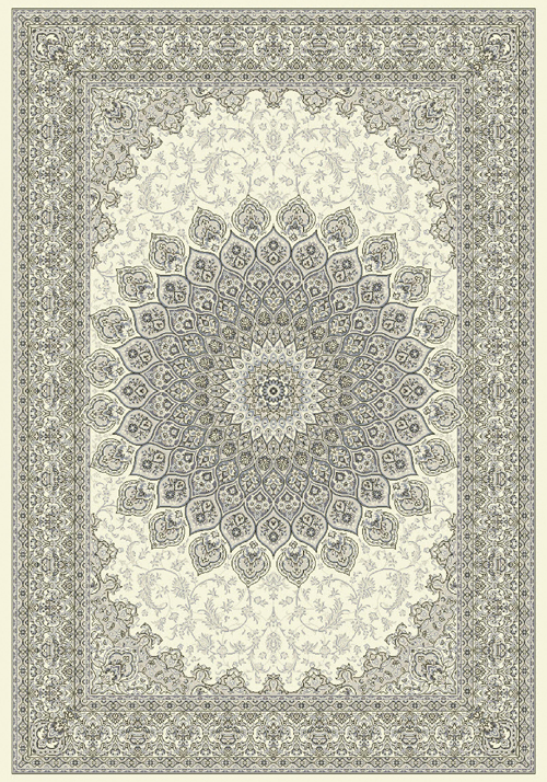 Dynamic ANCIENT GARDEN 57090 CREAM/GREY