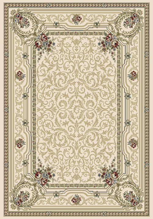 Dynamic ANCIENT GARDEN 57091 IVORY Rug