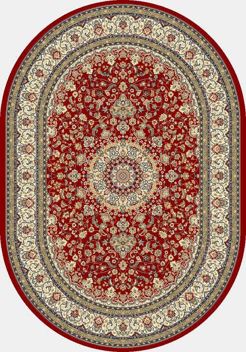 dynamic ancient garden 57119 red/ivory