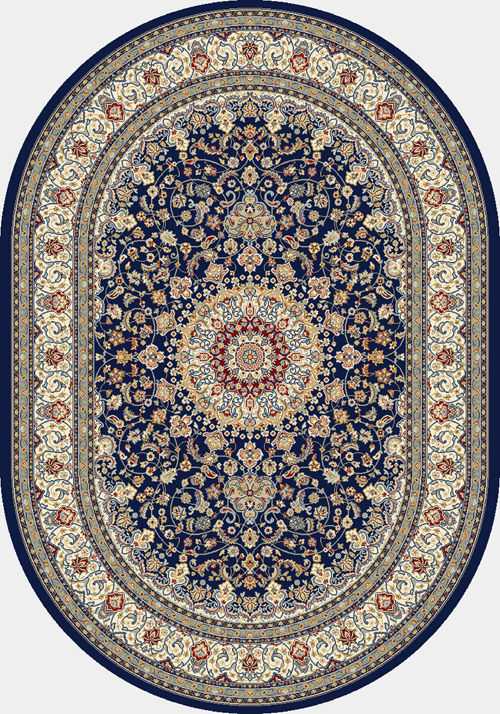 dynamic ancient garden 57119 blue/ivory
