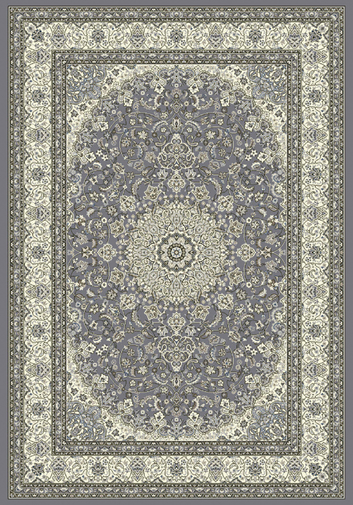dynamic ancient garden 57119 grey/cream