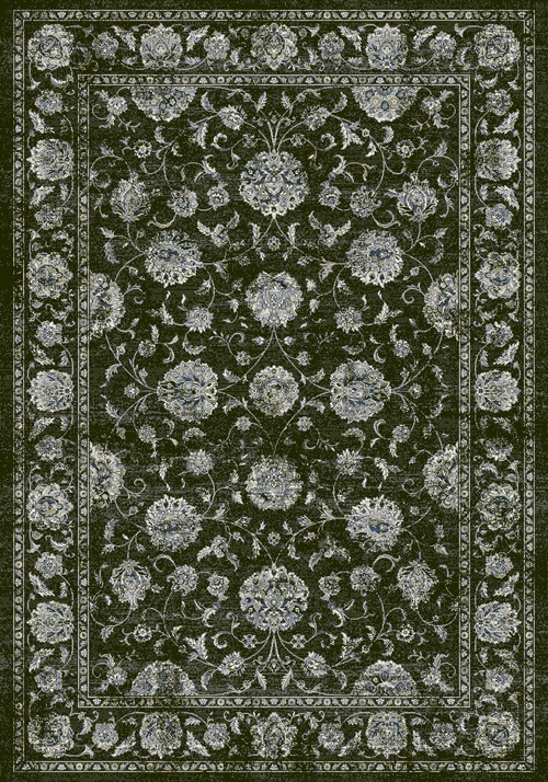 Dynamic ANCIENT GARDEN 57126 CHARCOAL/SILVER Rug